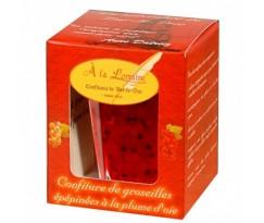 Confiture de groseilles rouges épépinées