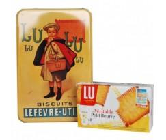 Petit beurre Lu  boite métal
