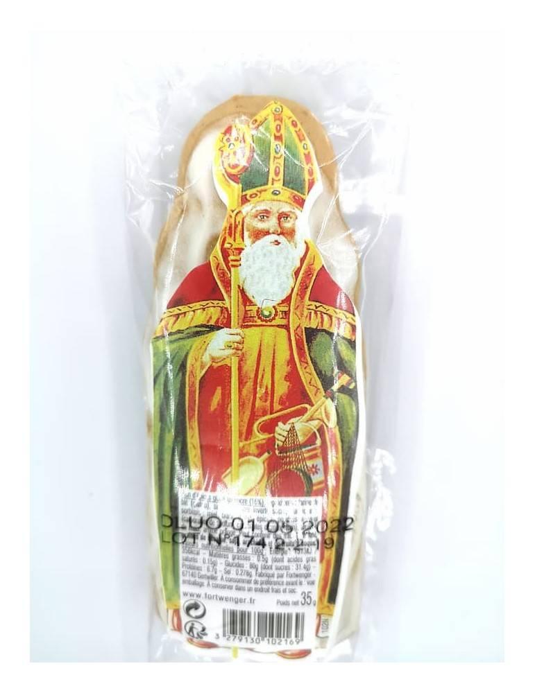 Saint Nicolas en pain d'épice