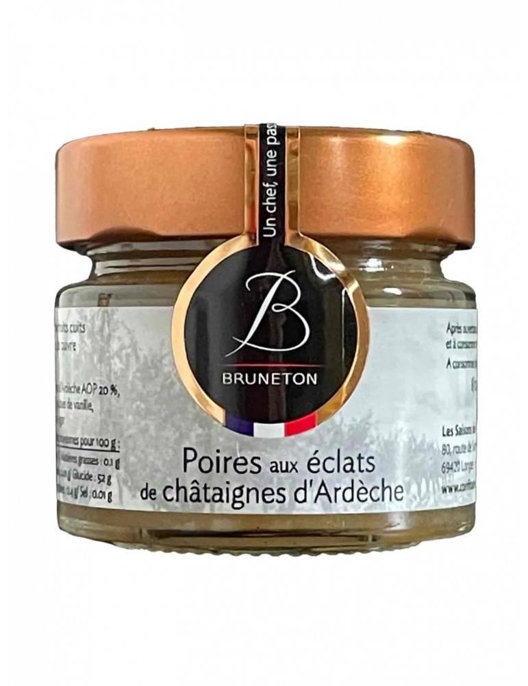 Confiture de Poires aux éclats de châtaignes d'Ardèche