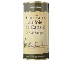 Cou Farci au foie gras de canard