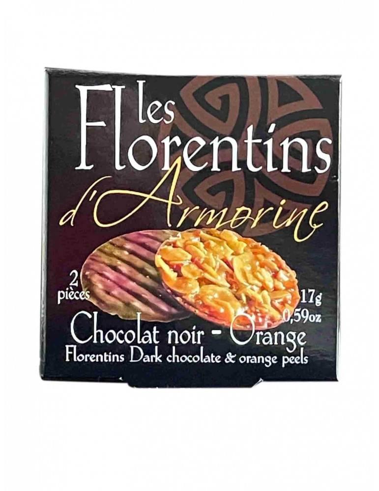 Florentins au chocolat noir
