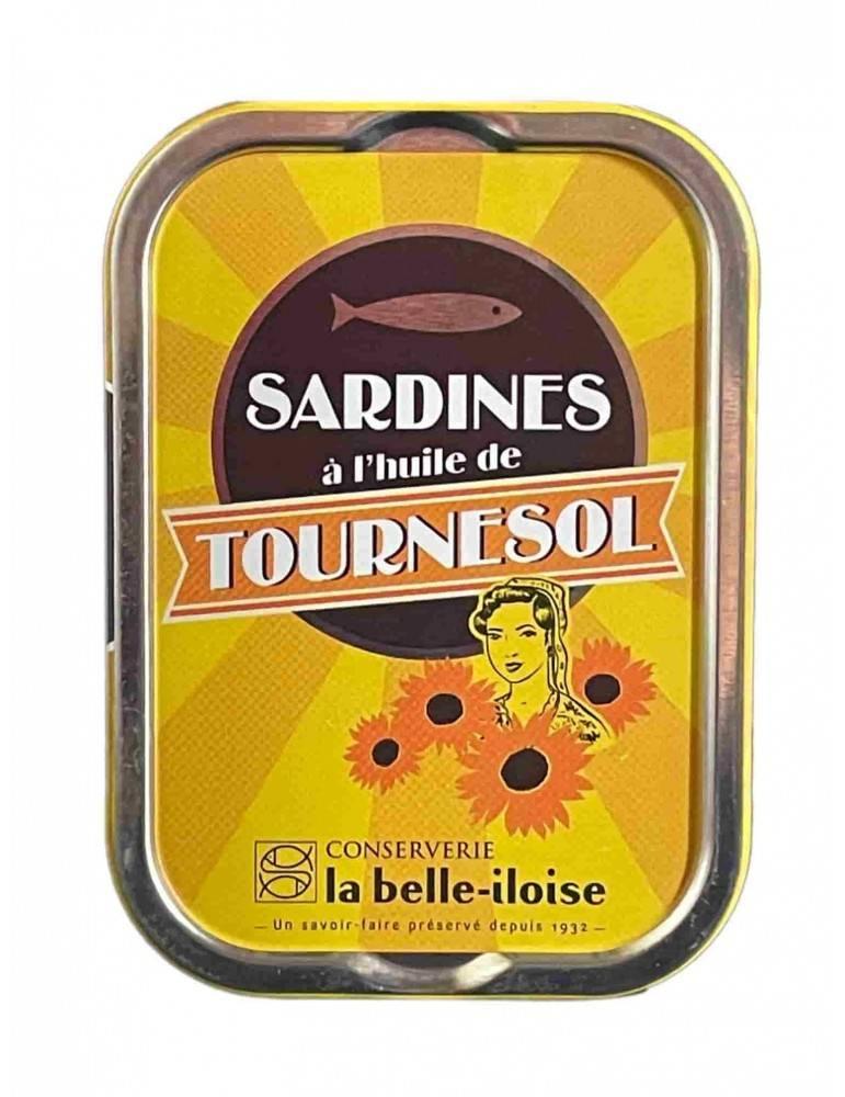 Sardines à l'huile de tournesol