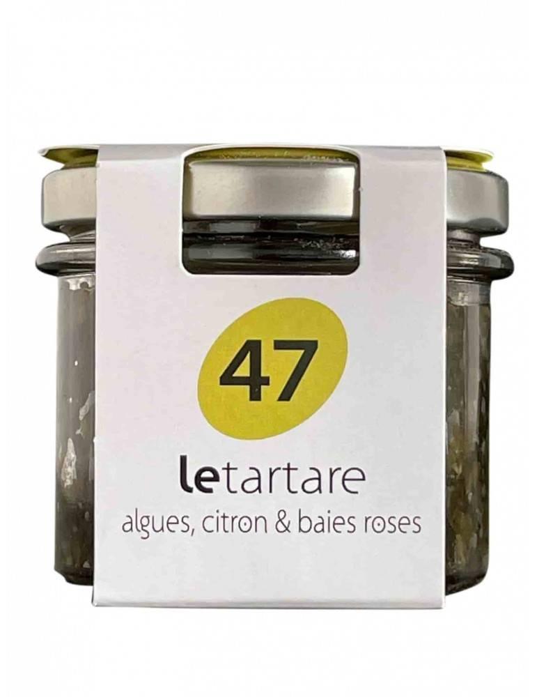 Tartare aux algues Bretonnes