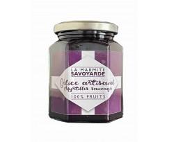 Confiture Artisanale Myrtilles Sauvage 100% Fruit