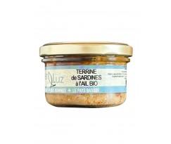 Terrine de Sardines à l'ail Bio - 1
