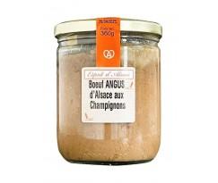 Boeuf Angus d'Alsace aux Champignons