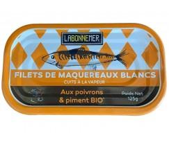 Filets de Maquereaux aux Poivrons et au Piment Bio - 1