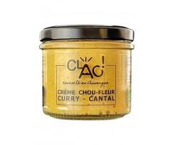 Crème Chou Fleur Curry et Cantal Bio - 1