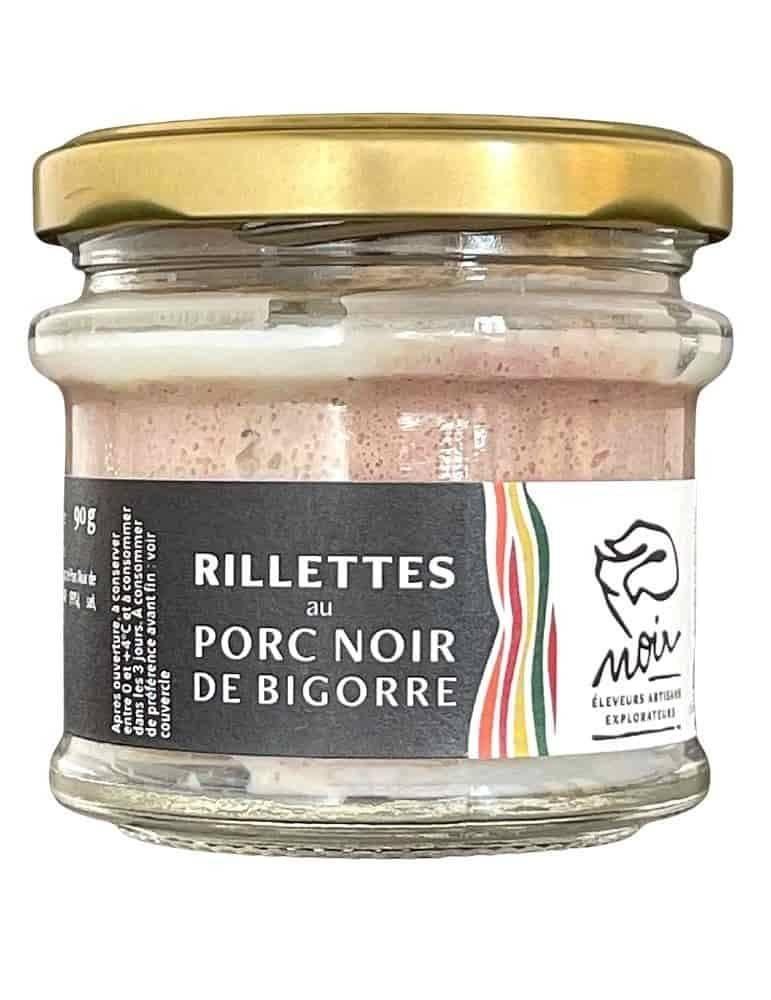 Rillettes Porc Noir de Bigorre AOP