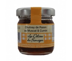 chutney raisin Muscat et Cumin