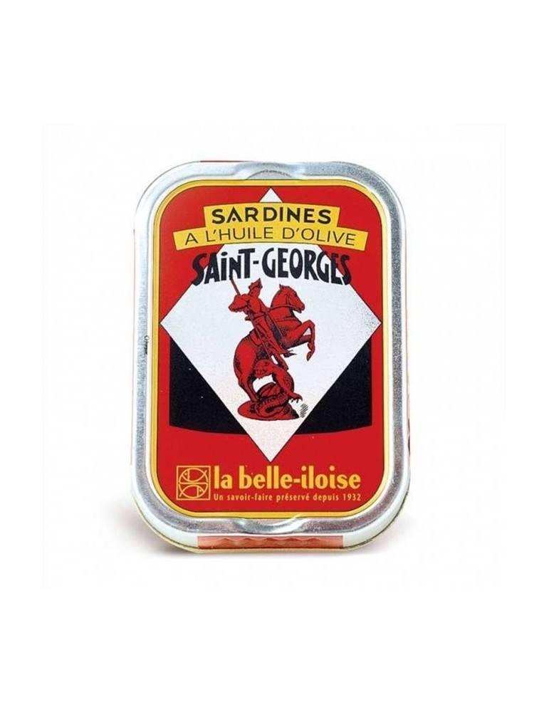 Sardines à l'huile d'olive La Belle Iloise