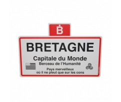 Plaque ville Bretagne