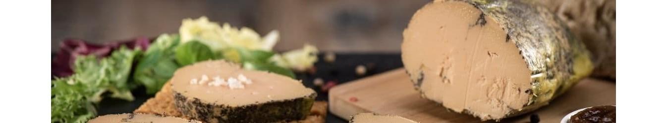 Foie gras - Terrine de foie gras - Fois gras de canard en conserve