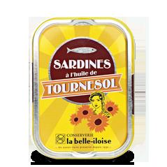sardine huile tournesol belle iloise