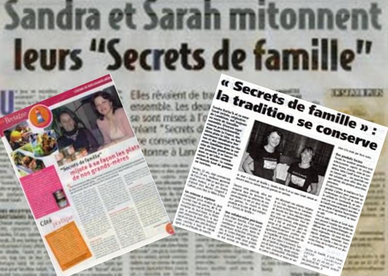 presse secrets de famille