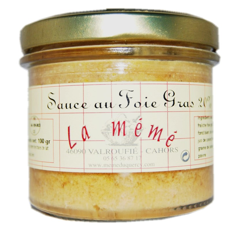 sauce foie gras