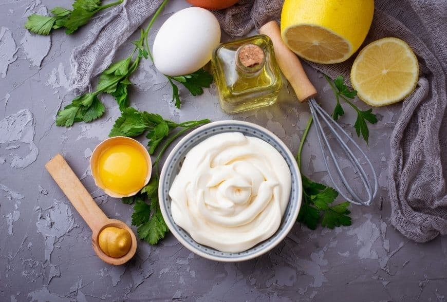 Recette de la Mayonnaise à l'huile de homard