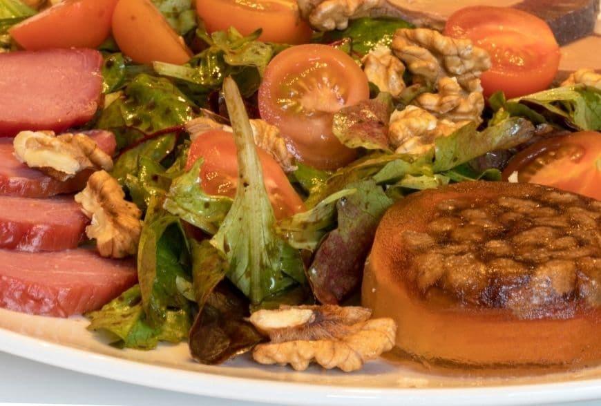 Recette de Salade Périgourdine avec Foie Gras
